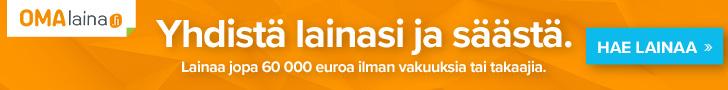 Omalaina.fi lainojen yhdistäminen